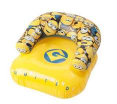 Fauteuil gonflable minion / Mickey ou Cars