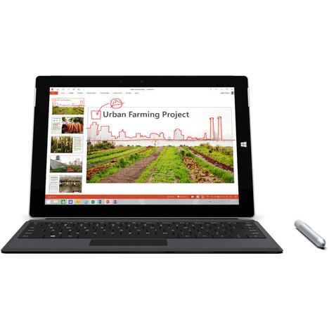 Tablette microsoft Surface 3 + clavier type cover (100€ sur carte fidélité)