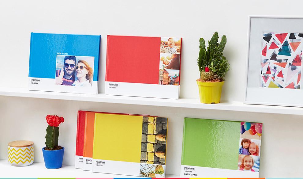 """Livre photo """"Pantone"""" 26 pages offert / Port inclus"""