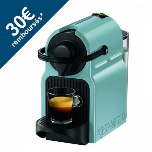 Machine à café Nespresso Krups Inissia YY1532FD - Sky Blue (avec ODR 40€)