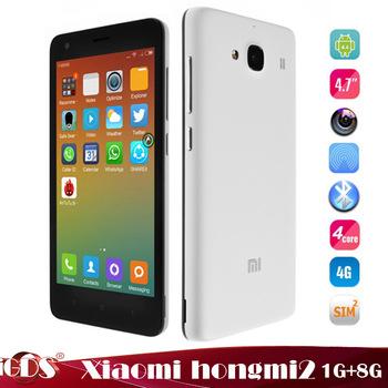 Smartphone 4.7'' Xiaomi Redmi 2 4G LTE Blanc