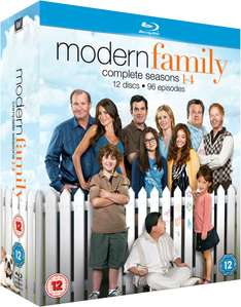 Coffret blu-ray Modern family saison 1 à 4