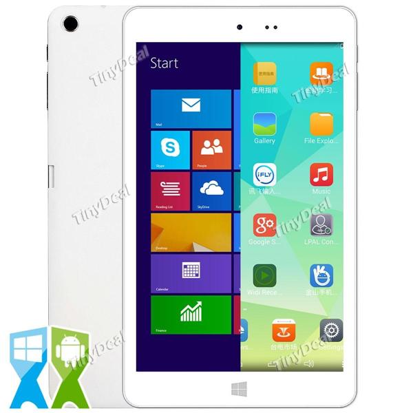 "Tablette 8"" Chuwi VI8 Ultimate - Quad Core - 2 Go Ram - 32 Go Rom - Dual Boot Windows/Android - Blanc"