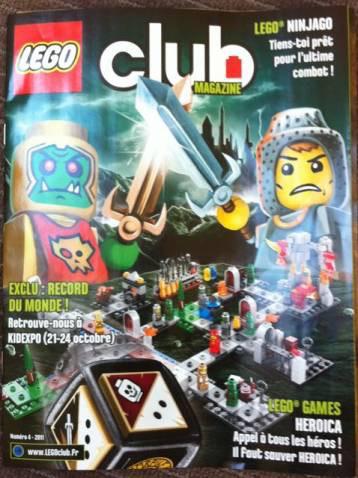 Abonnement gratuit au magazine Lego Garçon ou Fille durant 2 ans +2 ans