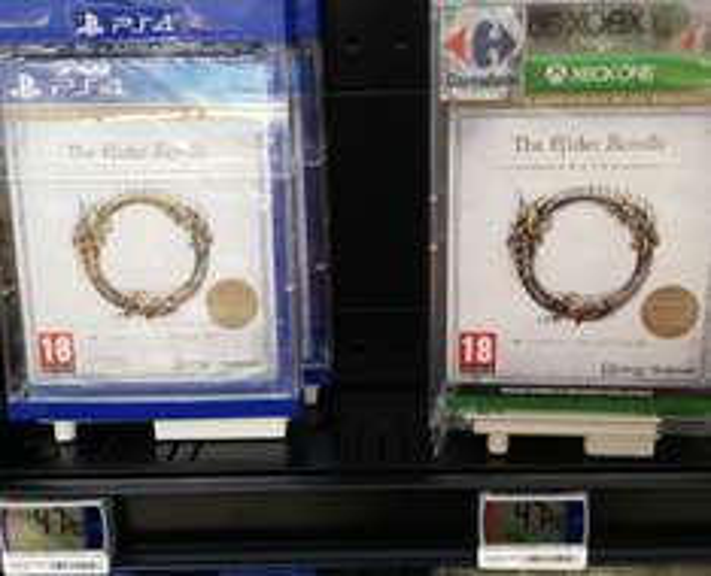The Elder Scroll Online Tamariel Edition sur PS4 et Xbox One