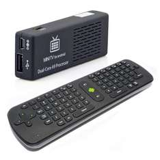 Dongle TV MK808 + Clavier/Souris sans fil RC11