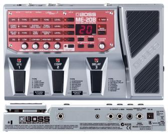 Pédale à effet Boss ME-20B pour guitare Basse avec code promo