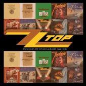 Coffret 10 CD ZZ Top - Complete Studio Albums 1970-1990