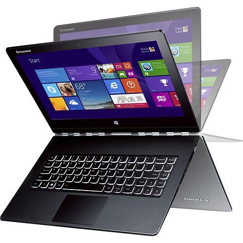 "Sélection de PC portables Lenovo Yoga en promo - Ex : Pc portable Hybride tactile 13"" Lenovo Yoga Pro 3 (Intel Core M, SSD 256 Go, 8 Go Ram) (ODR 100€)"