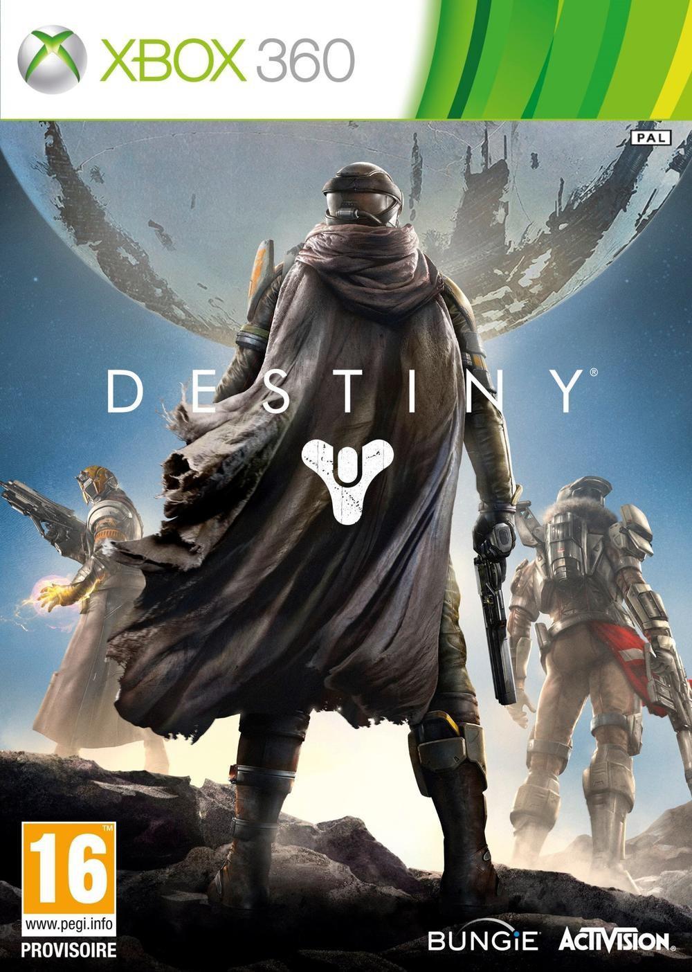 Jeu Destiny sur PS4 à 24,9€, sur Xbox One à 29,99€ et sur Xbox 360 et PS3