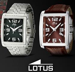 Montre Homme Lotus - Bracelet en acier à 49€, bracelet en cuir