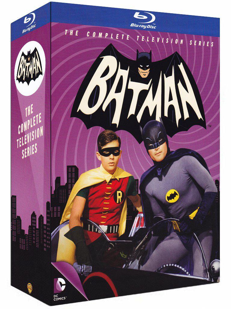 Coffret Blu-ray Batman 1966: La série TV