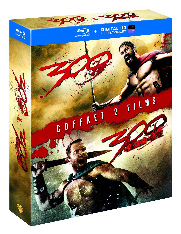 Coffret Blu-ray: 300 + 300 : la naissance d'un empire + Copie digitale