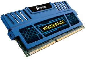 Mémoire Ram Corsair Vengeance 8 Go (2 x 4 Go) - DDR3 - 1866 MHz - Cas 9