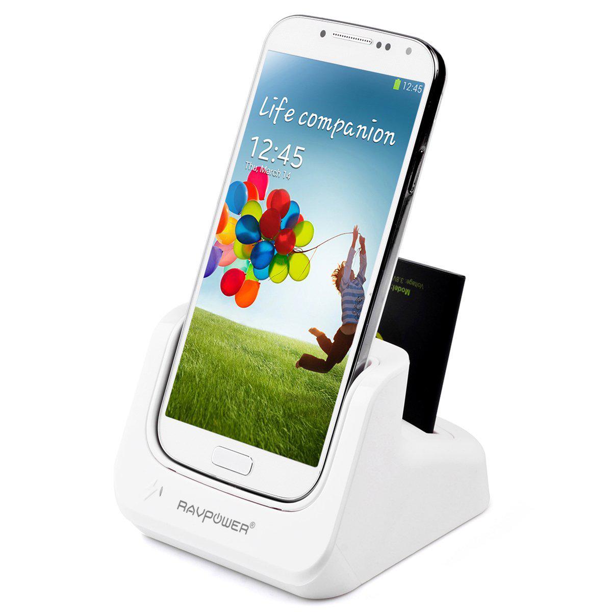 Station d'accueil Dual Chargeur pour Samsung S4 & S5