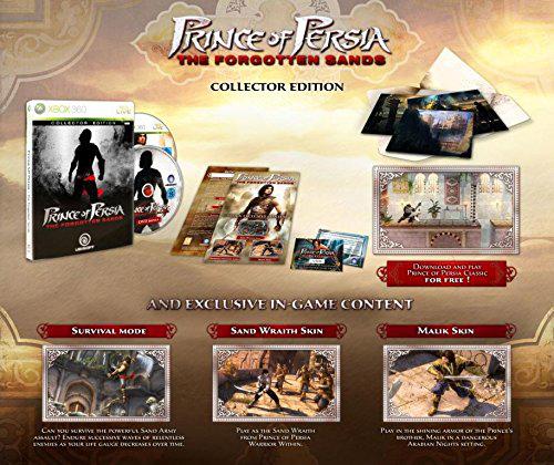 Prince of Persia: Les sables du temps collector sur Xbox 360