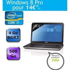 "PC Portable 15"" DELL XPS Intel Core i7, GeForce GT525M 1 Go, Son JBL 2.1"