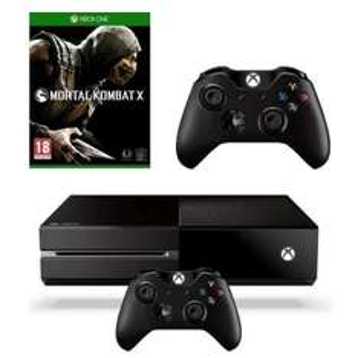 Console Xbox One + 2ème manette + Mortal Kombat
