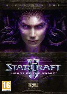 Jeu Starcraft II : Heart Of The Swarm sur PC (version boite)