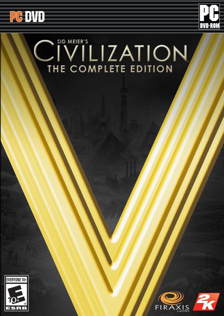 Jeu PC (dématérialisé) Civilization V Complete Edition