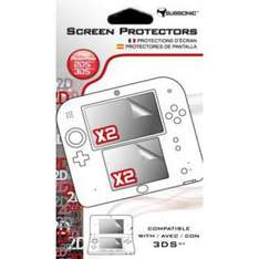 Lot de 2x 2 Films de protection Nintendo 2DS