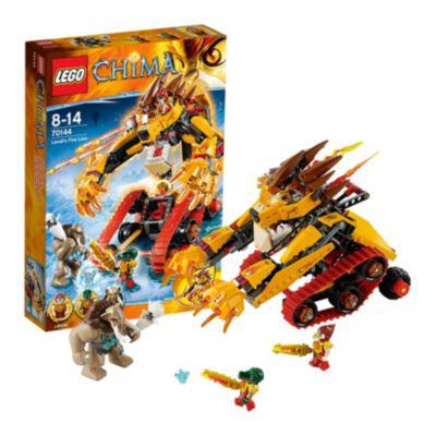 Lego Legends of Chima Playthemes - Le Tank Lion de Feu (70144)
