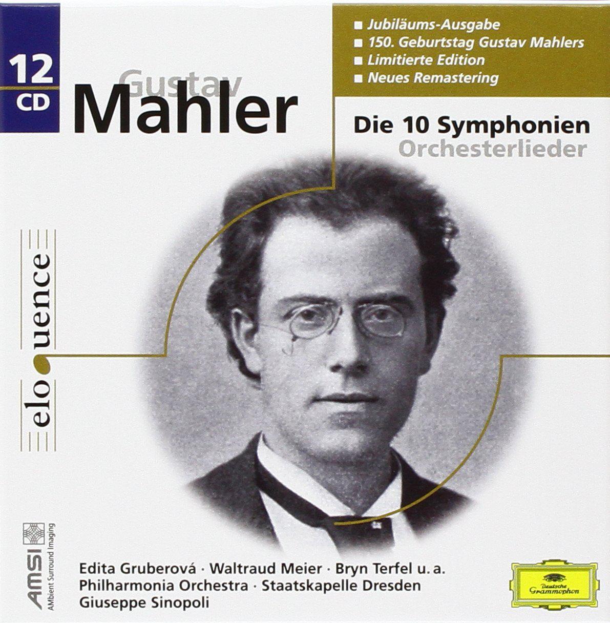 Coffret 12 CD Mahler : les 10 Symphonies