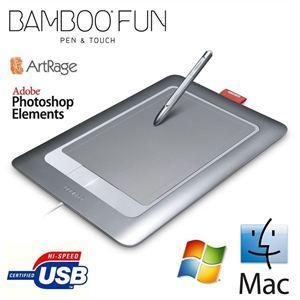 Tablette graphique Wacom Bamboo Fun Pen & Touch M