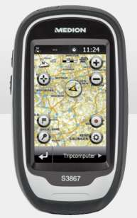 GPS randonnée Medion Outdoor GoPal S3867 (MD 98406) - Reconditionné