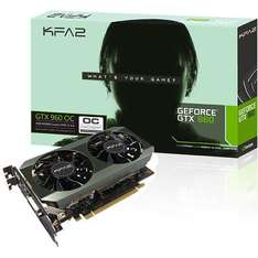 Carte Graphique KFA GeForce GTX 960 OC 2 Go + Batman Arkham Knight offert