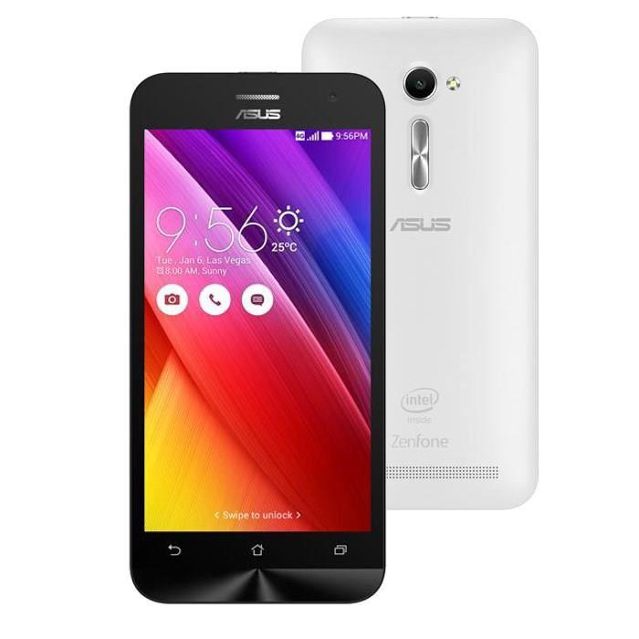 """Smartphone 5"""" Asus Zenfone 2 ZE500CL 8Go 4G Blanc"""