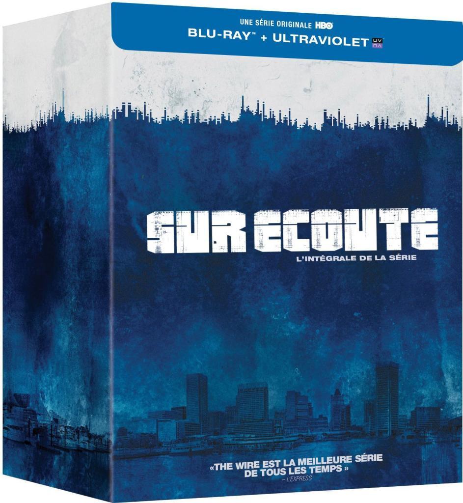 Coffret Blu-ray + Copie digitale: Sur écoute - L'intégrale de la série