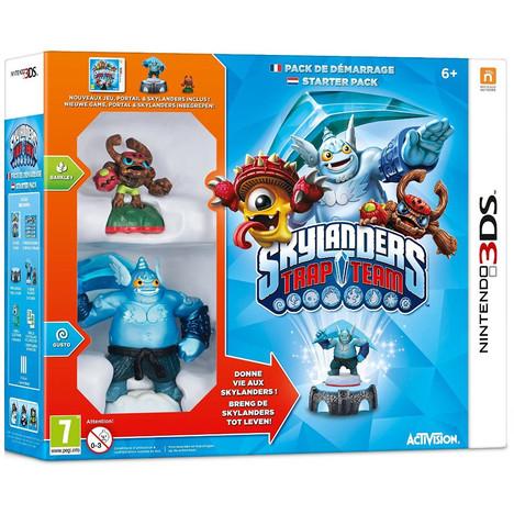 Pack de démarrage Skylanders Trap Team 3DS