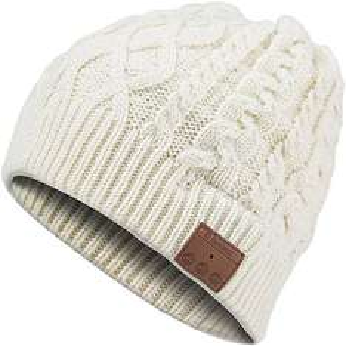 Bonnet avec écouteurs bluetooth Archos Music Beany - Blanc