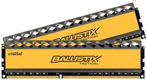 Memoire DDR3 Crucial Ballistix Tactical Tracer 8Go (2 x 4 Go) PC14900 1866MHz CL9