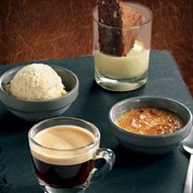 Un dessert offert au choix pour une côte de boeuf achetée