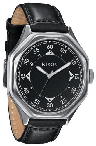 Montre Nixon Faclon Leather Noire (autres voir description)