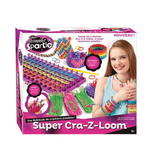Super fabrique bracelets en élastiques Cra-Z-Loom