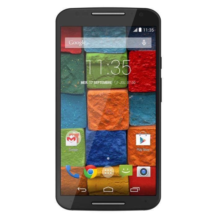 "Smartphone 5,2"" Motorola Moto X Cuir V2 Noir 4G 16 Go"