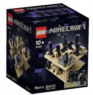Jeu de construction Lego Minecraft: Micro monde - La fin - n° 21107