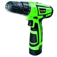 Perceuse visseuse Kawasaki sans fil 10,8V Lithium-ion 1,3Ah