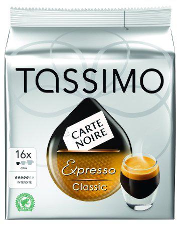 Lot de 6 paquets de 16 dosettes Tassimo - 96 dosettes - Divers parfums (Via BDR) de 10.9€
