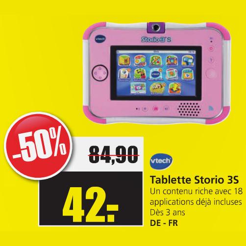 """Tablette 5"""" Vtech Storio 3S"""