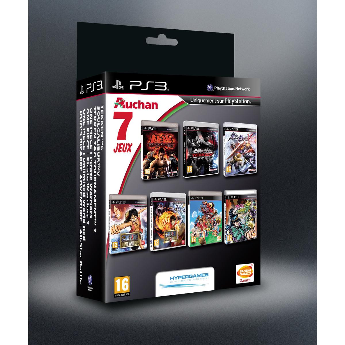 -50% Pack PS3 7 jeux Namco Bandai