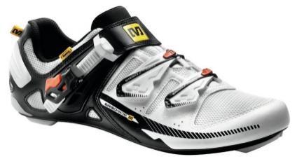 Chaussures vélo de route homme Mavic Galibier - Blanc