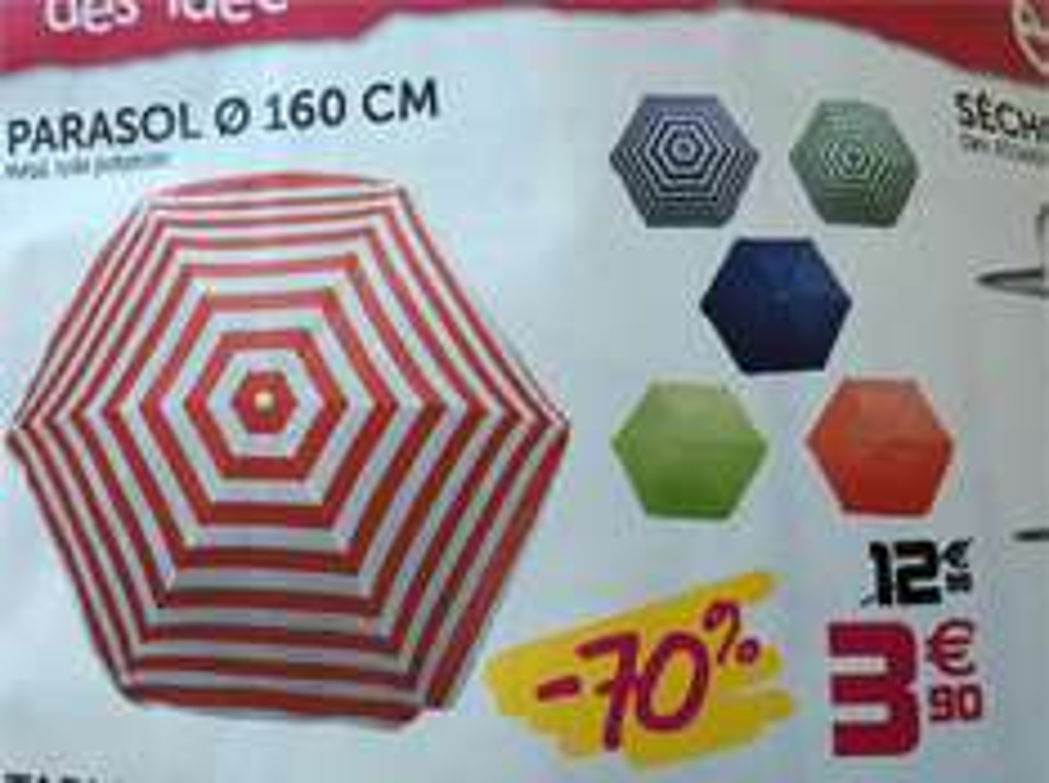 Parasol 160 cm