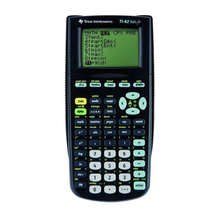 Calculatrice Ti 82 Stats