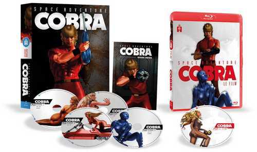 Coffret Blu-ray Cobra - Intégrale Collector Remasterisée