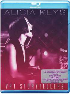 Blu-ray Alicia Keys vh1 Storyteller
