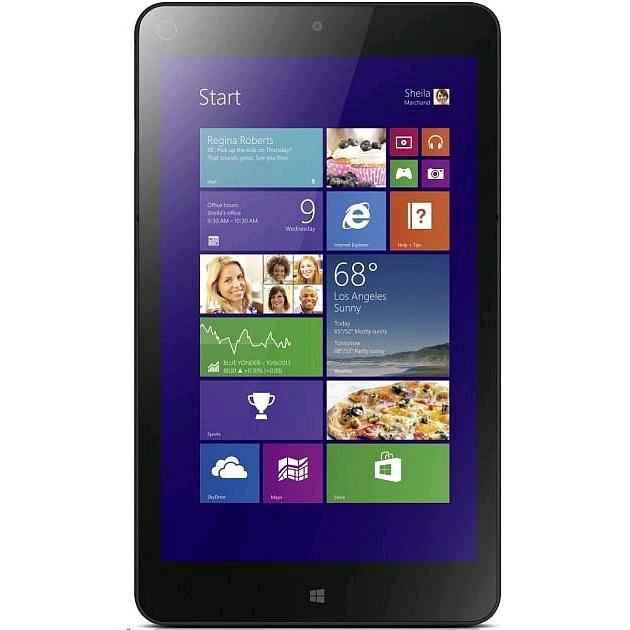 "Tablette 8.3"" Lenovo ThinkPad FHD 4G LTE - 4 Go ram, Wi-Fi + 4G LTE, ssd 128 Go, Win 8.1 Pro"